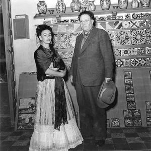 Frida Kahlo. Fotografie di Leo Matiz