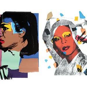Andy Warhol + Maria Mulas