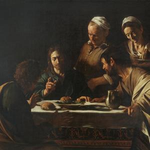 Attorno a Caravaggio: La cena di Emmaus
