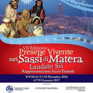 Presepe Vivente 2016 a Matera
