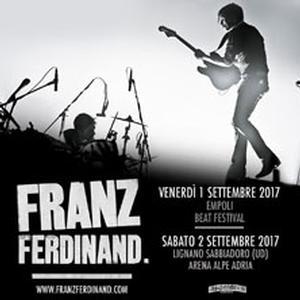 Concerto Franz Ferdinand Empoli