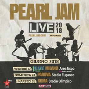 Concerto Perl Jam Padova