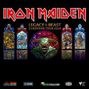 Concerto Iron Maiden Trieste
