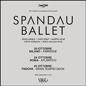 Concerto Spandau Ballet Milano