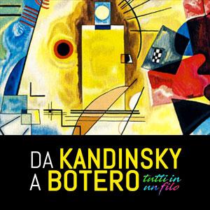 Da Kandinsky a Botero. Tutto in un filo