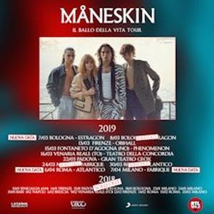 Concerto Maneskin Milano
