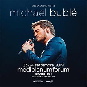 Concerto Michael Bublé Assago