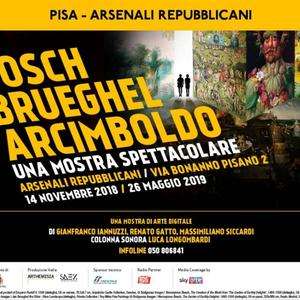 Bosch, Brueghel, Arcimboldo. Una mostra spettacolare
