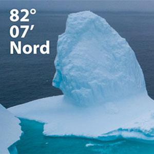 82°07'North