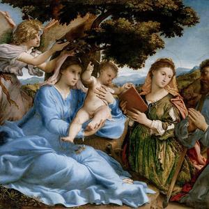 Sacra Conversazione con i Santi Caterina e Tommaso
