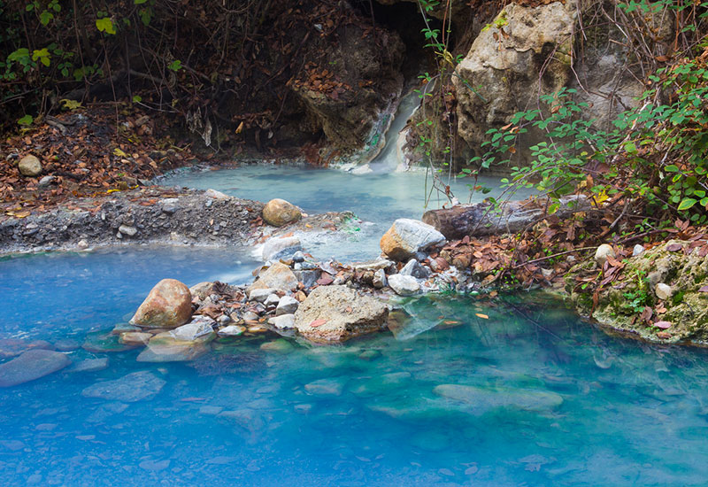 Free thermal springs in Italy