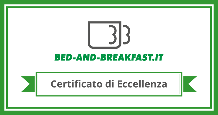 Certificato d´eccellenza Bed-and-breakfast.it